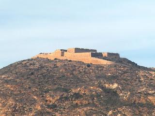 Cartagena. Murcia. Castillo. Castle. Château. Fortificación
