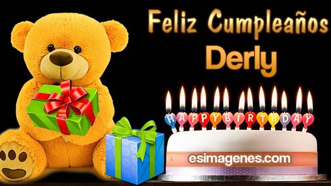 Feliz cumpleaños Derly
