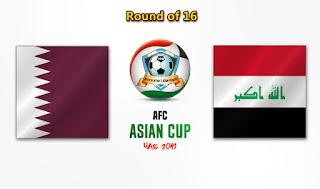 مشاهدة مباراة العراق وقطر بث مباشر بتاريخ 22-01-2019 كأس آسيا 2019
