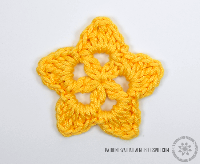How To Crochet A Star 2 Patrones Valhalla Free Crochet Patterns