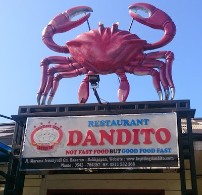 Kepiting Dandito Dengan Saus Special