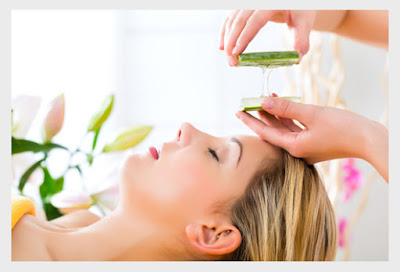 Aloe Vera for tan removal