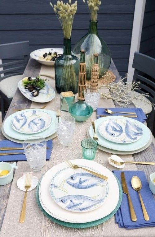 Vietri Pescatore Coastal Tableware Made in Italy