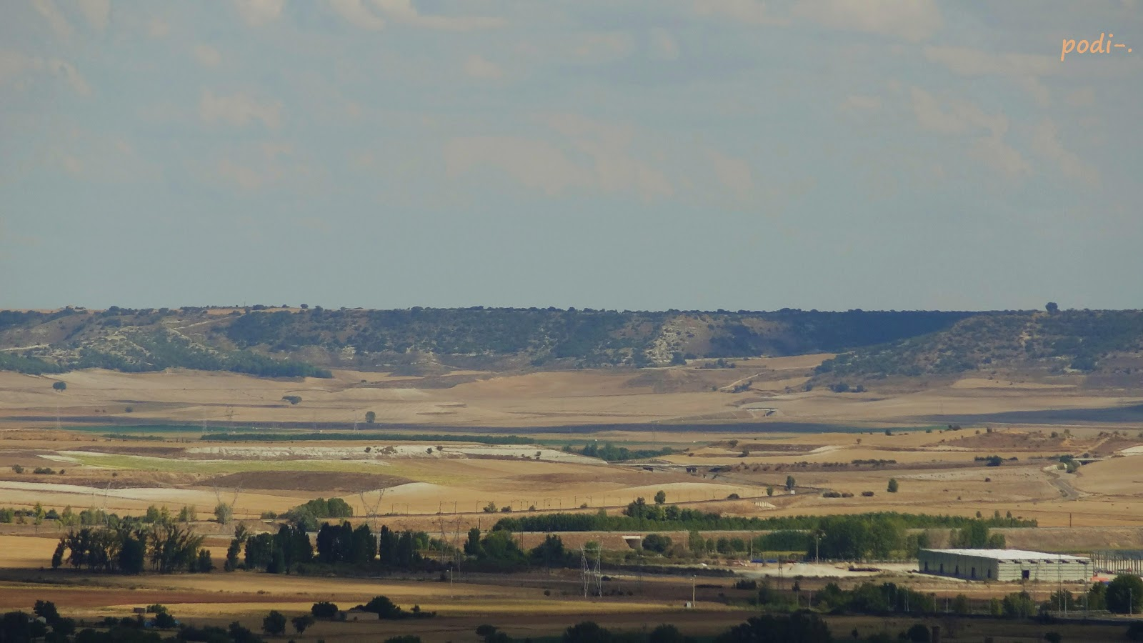 Tierra de Campos, Palencia, el Granero de España