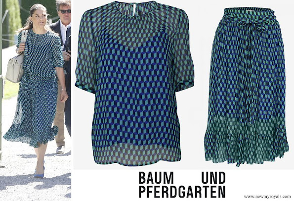 Crown Princess Victora wore Baum und Pferdgarten Milena Top and Selda Skirt