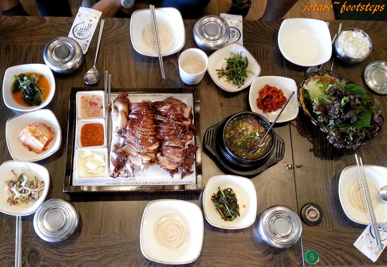 Footsteps - Jotaro\'s Travels: YummY! - Korean Smoked Pork @ Mapo ...