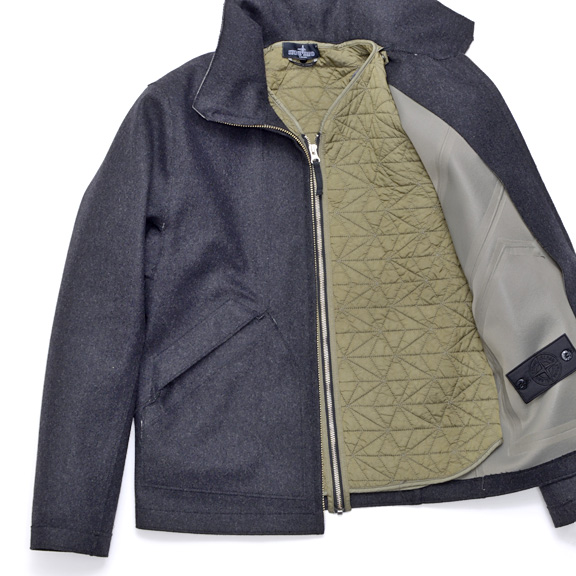 New Shadow Project Wool Membrane Jacket With