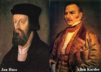 Allan Kardec reencarnação de Jan Huss