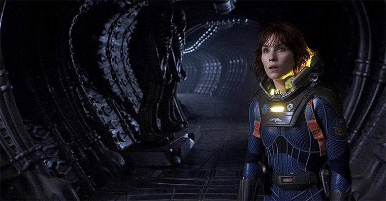 Noomi Rapace in PROMETHEUS (Ridley Scott, 2012). Quelle: 20th Century Fox