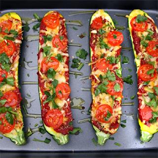 Oppskrift Ovnsbakt Squash Sunn Pizza Kjøttfri Tapas Vegetartapas