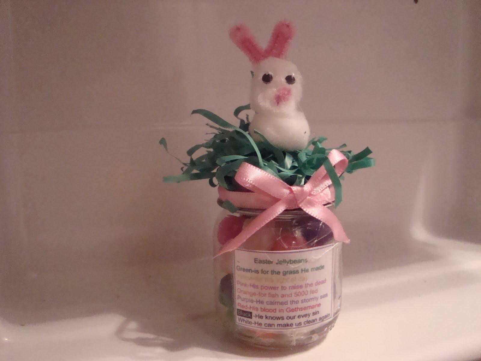 Activity Days Ideas Easter Jelly Bean Poem Jars