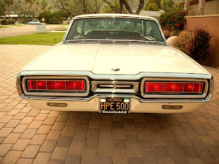 1965 Ford Thunderbird Luxury Coupe Rear