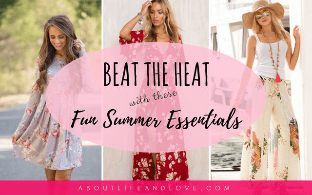 Beat the Heat With These Fun Summer Essentials