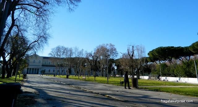 Parque Schuster e Basílica de São Paulo Extramuros, em Roma