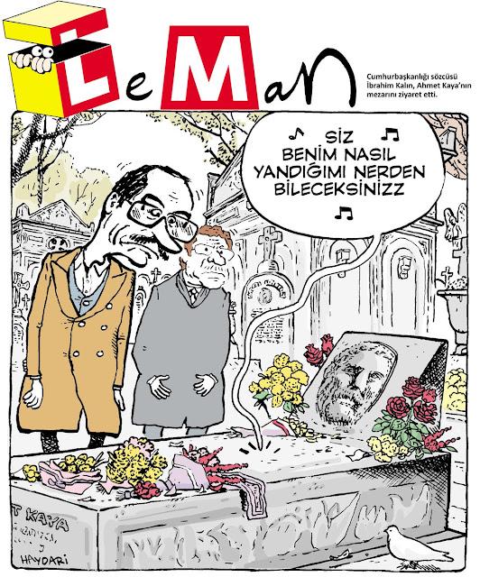 ibrahim kalın karikatür