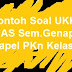 Contoh Soal UKK (UAS Sem.Genap) Mapel PKn Kelas 8