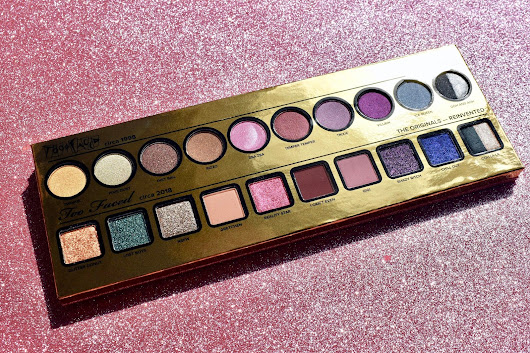"HAPPY BIRTHDAY TOO FACED! ""NOW& THEN PALETTE"" REVIEW + SWATCHES"