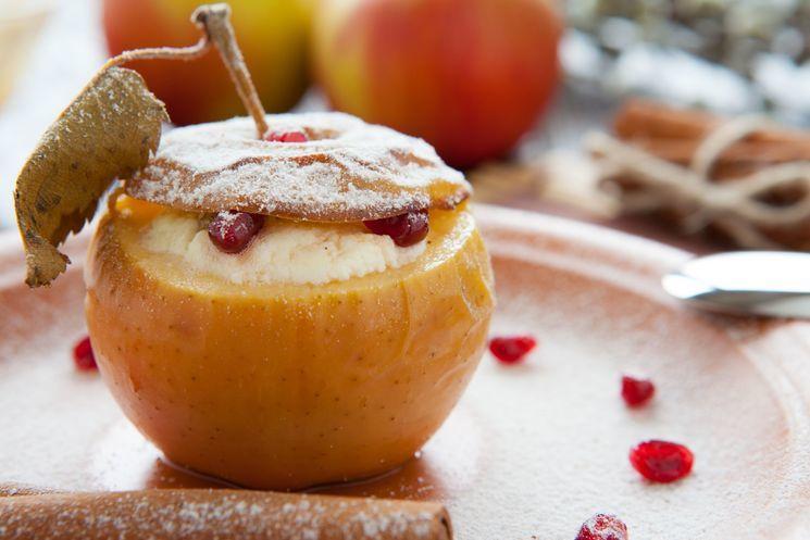 Десерты из печеных фруктов