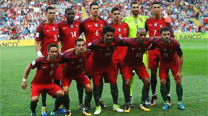 Timnas Portugal di Piala Dunia 2018