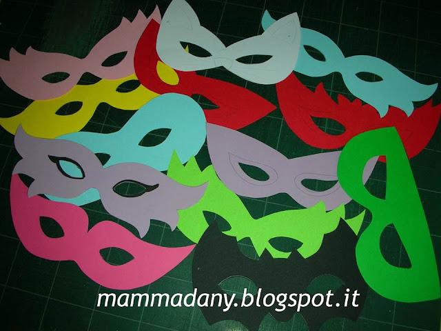 maschere di carnevale per bambini