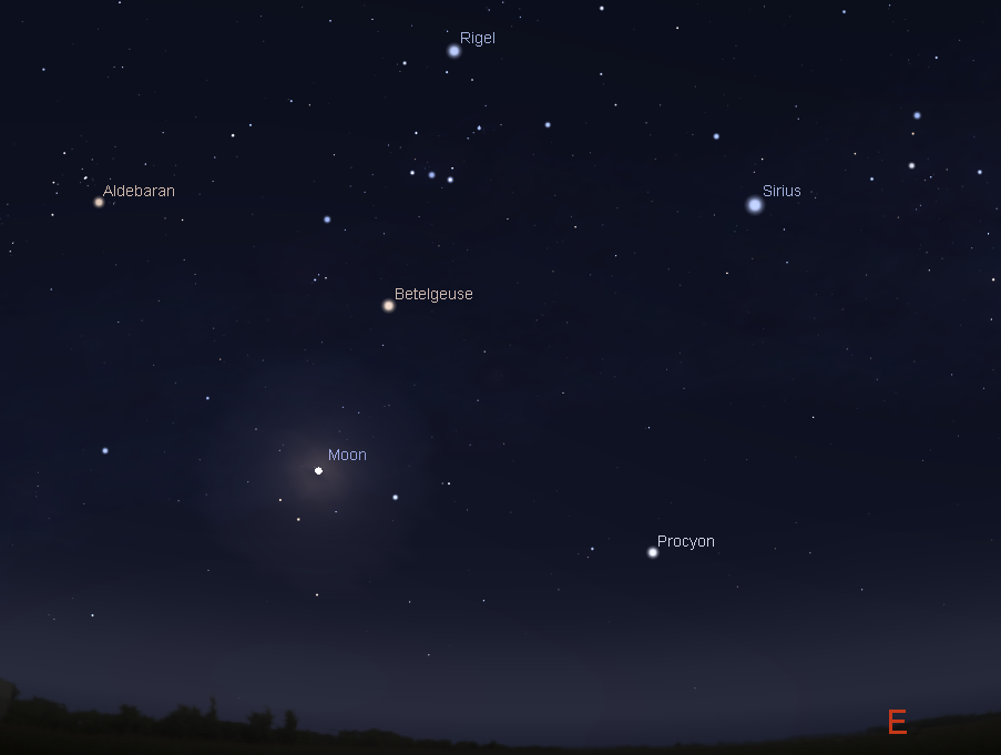 A Rare Christmas Full Moon, and other Astronomical Treats of