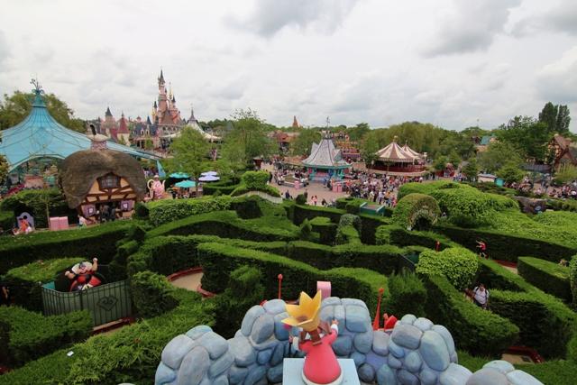 Atracciones de Disneyland Paris