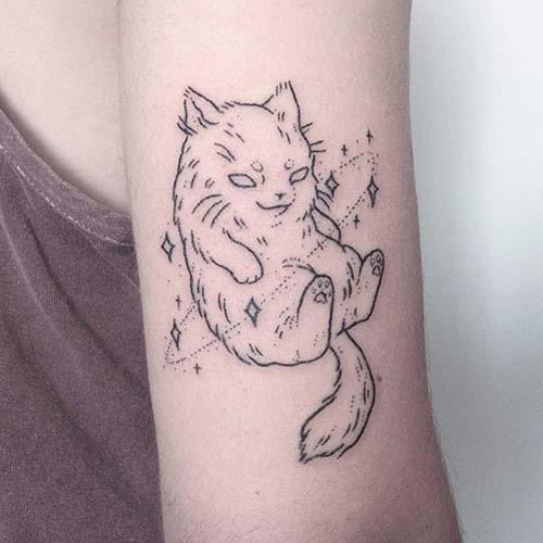 kedi dövmeleri cat tattoos 36