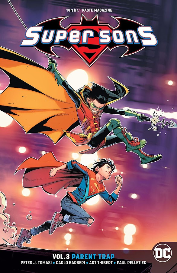 super sons parent trap dc comics