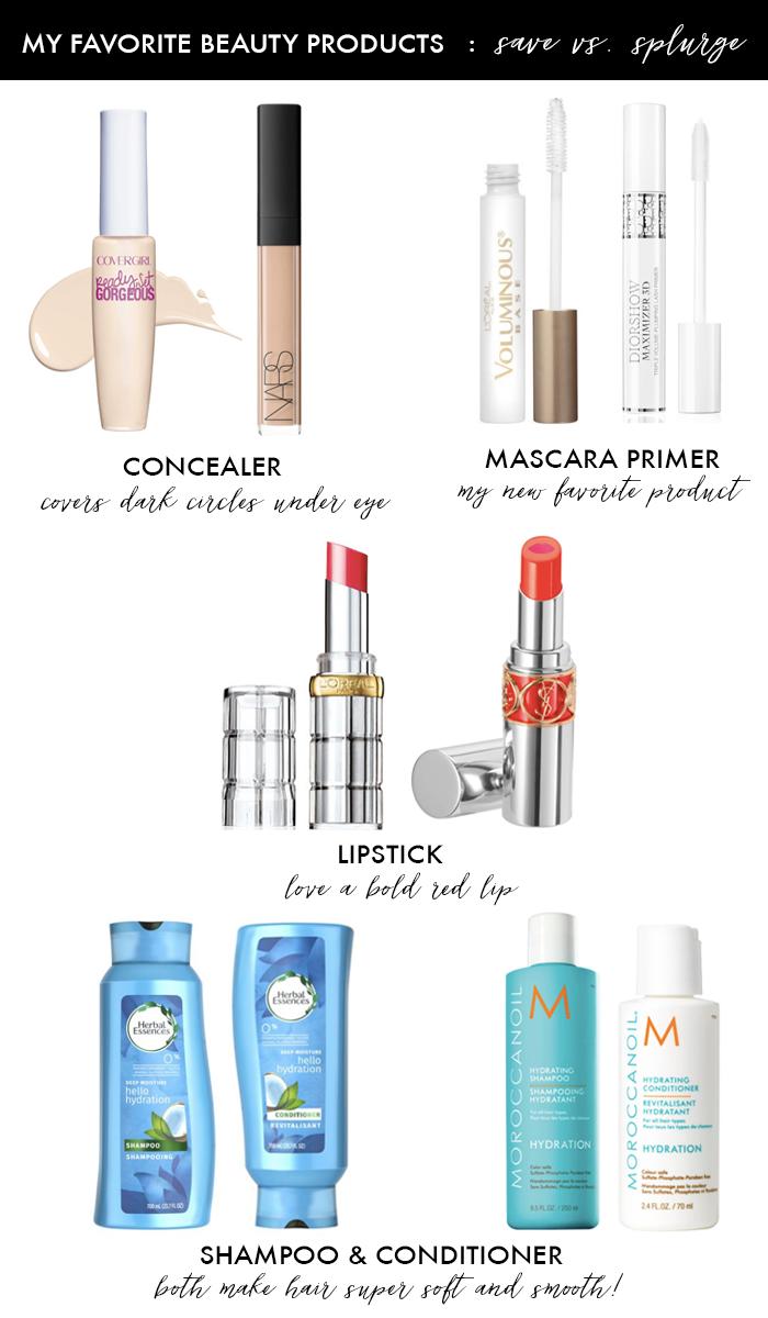best concealer mascara primer lipstick shampoo