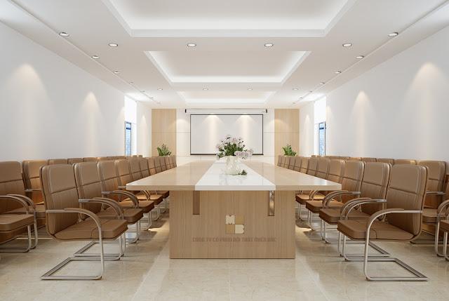 Thiết kế nội thất phòng họp đẹp sang trọng, đẳng cấp - H1