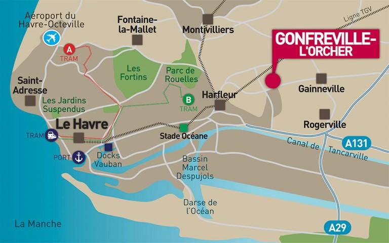 Gonfreville-l'Orcher est une commune française située dans le département de la Seine-Maritime en région Haute-Normandie