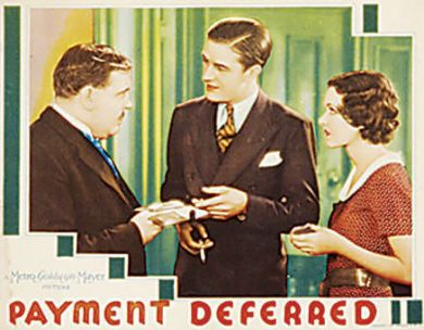 Laughton O'Sullivan and Milland Payment Deferred 1932