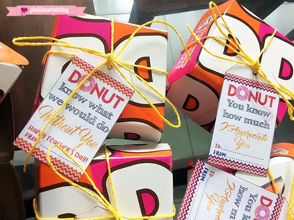 Teacher Appreciation Donuts Tags FREE Printables