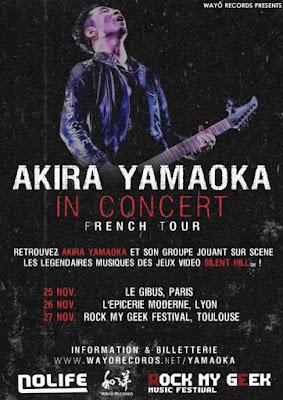 Akira Yamaoka in Concert