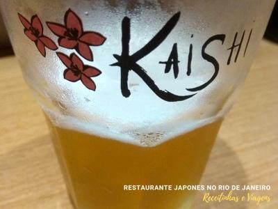 Restaurante japonês Rio de Janeiro com cerveja especial