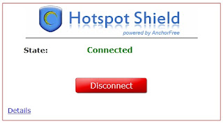 Hotspot Shield - screenshot