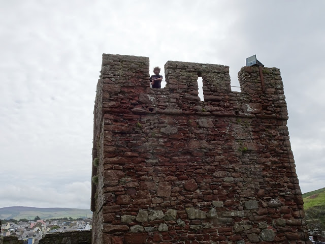 Isle of Man Peel Castle
