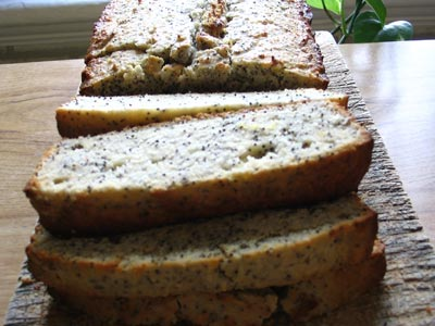 Honey, Lemon & Poppy Seed Cake