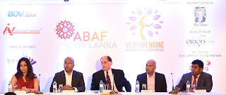 Heena Khushalani - Program Manager of Aavishka, Dumith Fernando – Chairman of Lankan Angel Network, Jordan Green – Chairman of Asian Business Angel Forum, Prajeeth Balasubramaniam – Managing Director of BOVCapital and Jeevan Gnanam – Director of Orion City