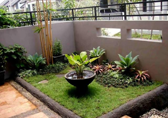 membuat taman di lahan sempit