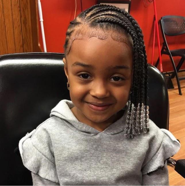 17+ Cute Lemonade Braids Hairstyles For Kids To Try Soon
