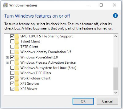 "how to activate the option ""Windows Subsystem for Linux (Beta)"""