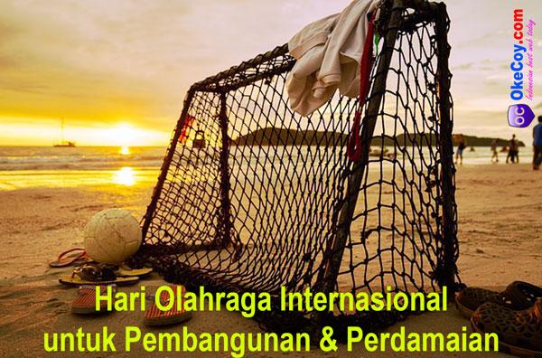 hari olahraga sedunia internasional untuk pembangunan dan perdamaian dunia nasional indonesia