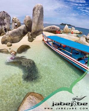 Sewa Boat Tradisional Belitung