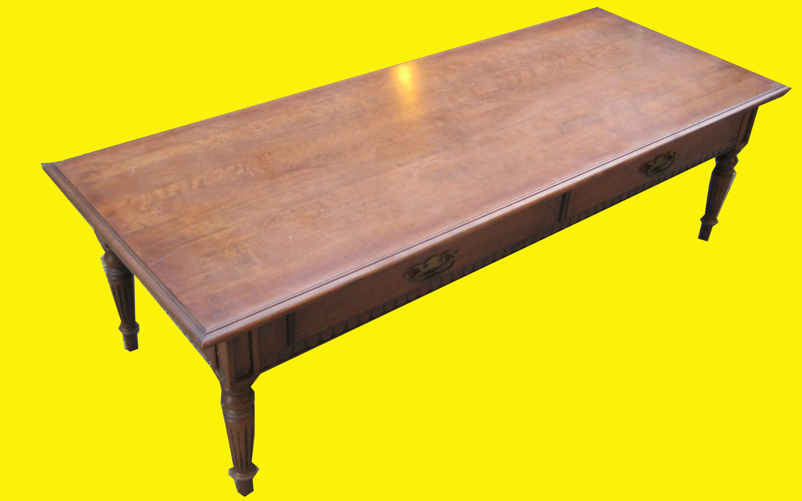 Uhuru Furniture & Collectibles: Ethan Allen Coffee Table SOLD