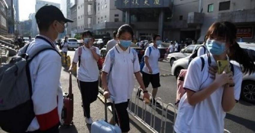 Pekín ordena cierre de todas los colegios por rebrote del coronavirus