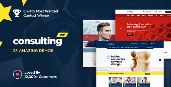 Consulting v4.3 - Business, Finance WordPress Theme