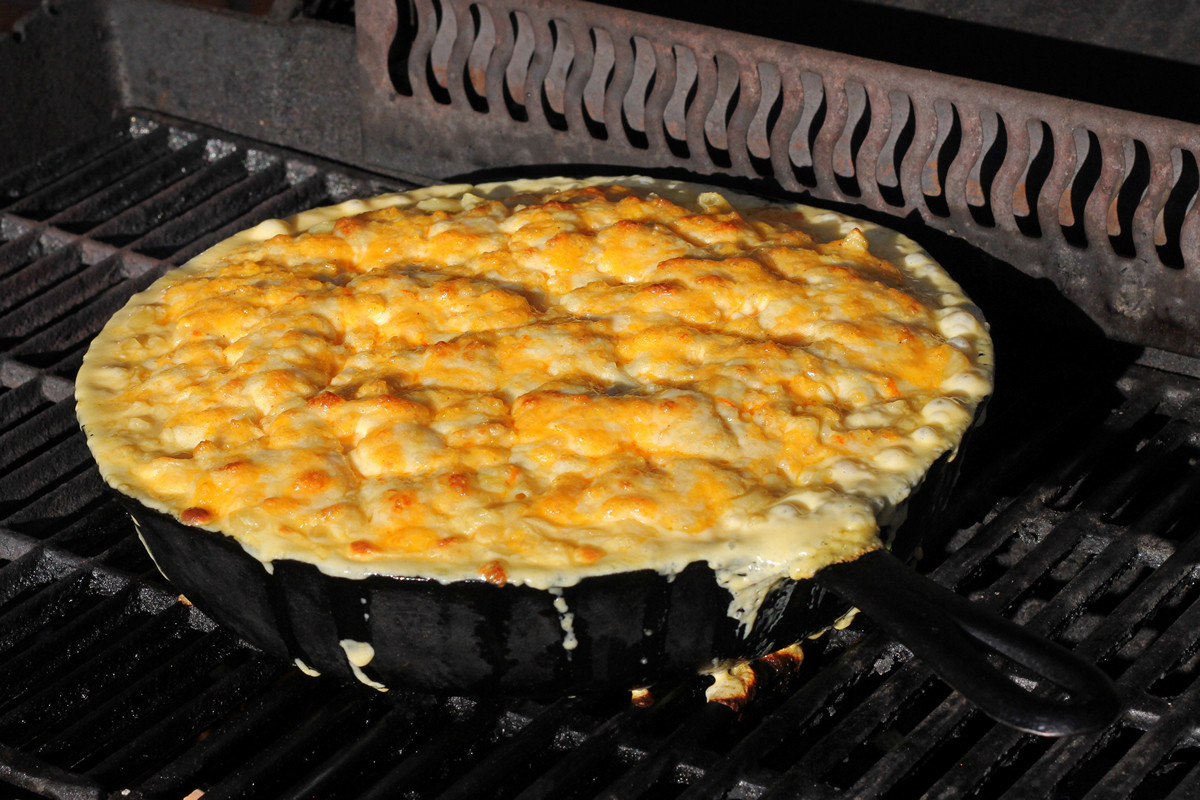 Cookistry Mac And Cheese In A Cast Iron Pan Cook It On