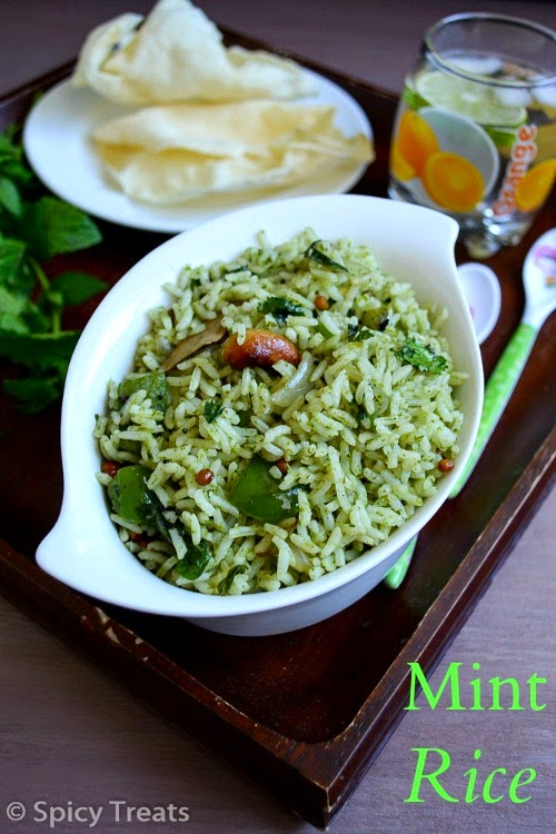 Easy to Make Mint Rice