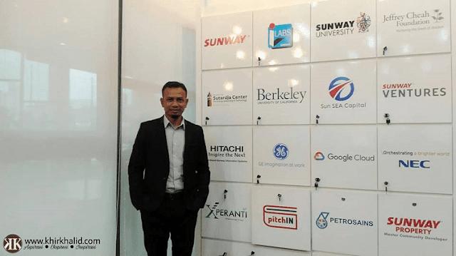 Sunway iLabs Makerspace - Sunway University. Khir Khalid.